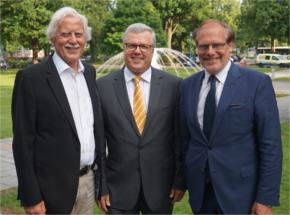 Dr. Martin Rudolph folgt als Vorstandsvorsitzender der SüdniedersachsenStiftung auf Klaus Hoffmann