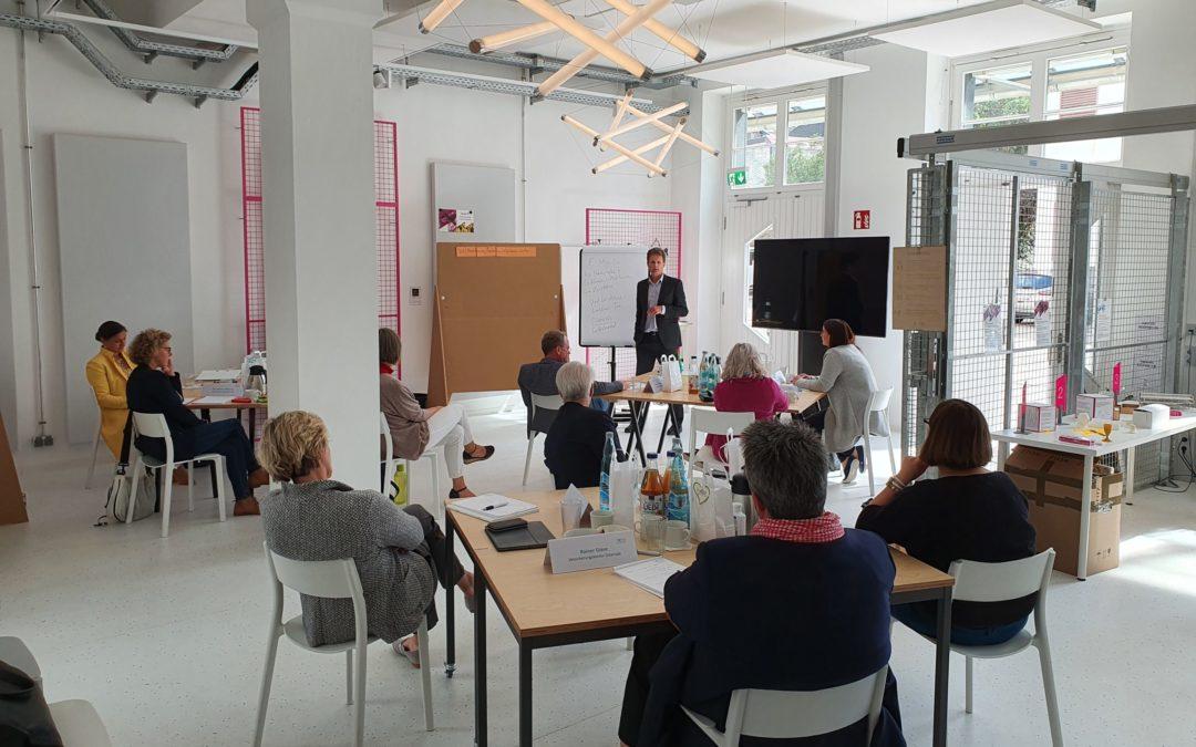 """TOPAS-Seminar """"Zeitintelligenz"""" fand am 2. September statt"""