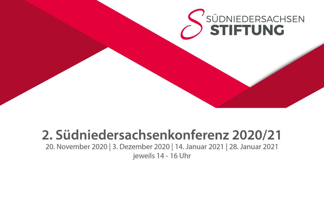 2. Südniedersachsenkonferenz findet von November 2020 bis Januar 2021 als vierteilige Online-Veranstaltungsreihe statt