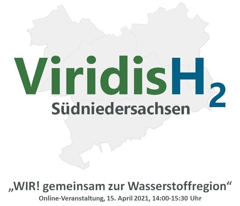 """#19 ViridisH2-Veranstaltung """"WIR! gemeinsam zur Wasserstoffregion"""""""
