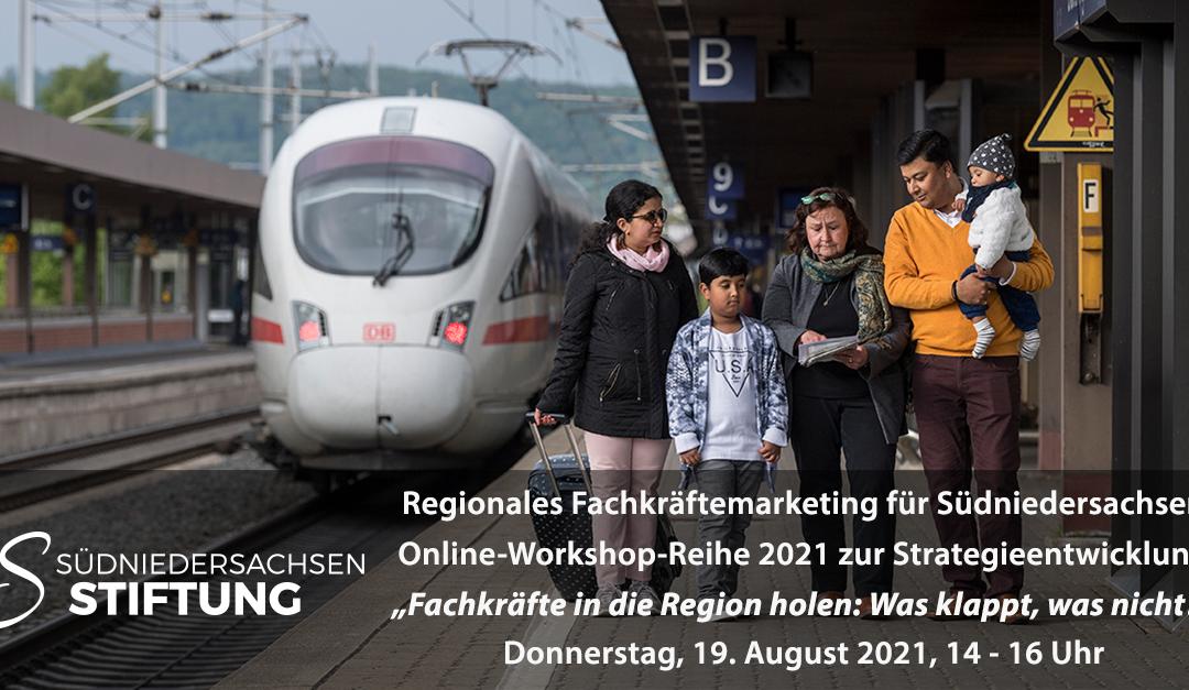 """Regionales Fachkräftemarketing: Online-Workshop """"Fachkräfte in die Region holen: Was klappt, was nicht?"""""""