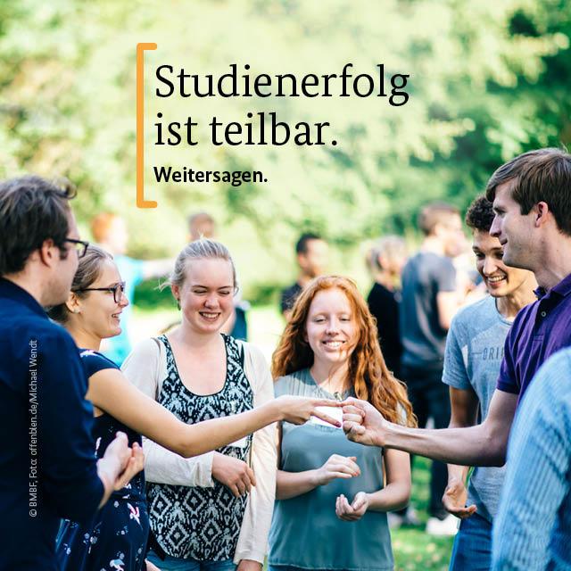 Deutschlandstipendien an den Hochschulen der Region fördern