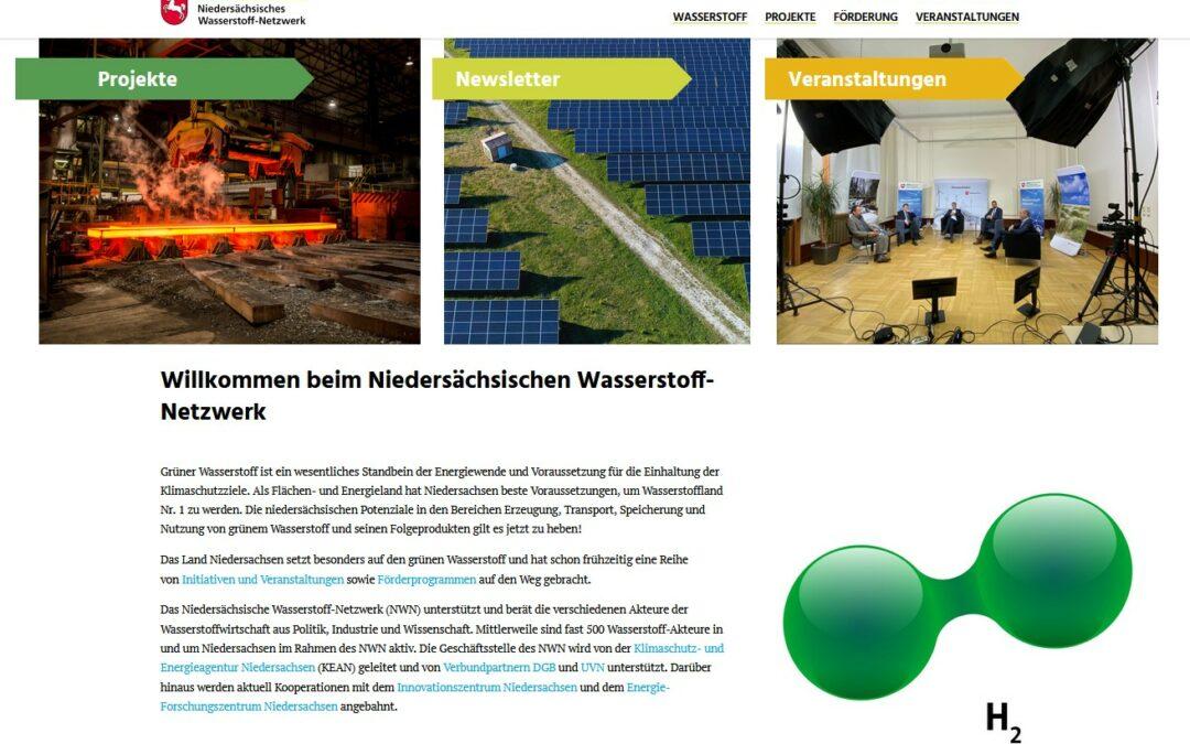 #33 Niedersächsisches Wasserstoff-Netzwerk online